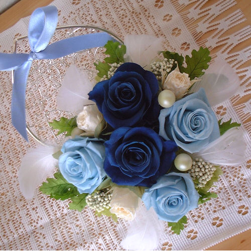 オーダーメイド事例07:サムシングブルーの結婚祝い 02