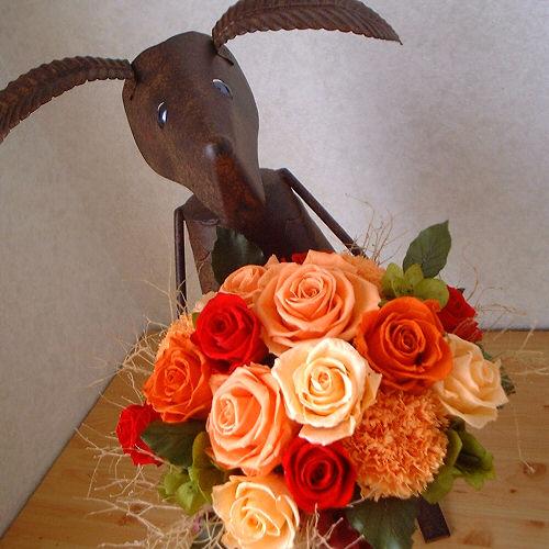 オーダーメイド事例11:イタリア料理店へ贈る開店2周年のお祝い花 01