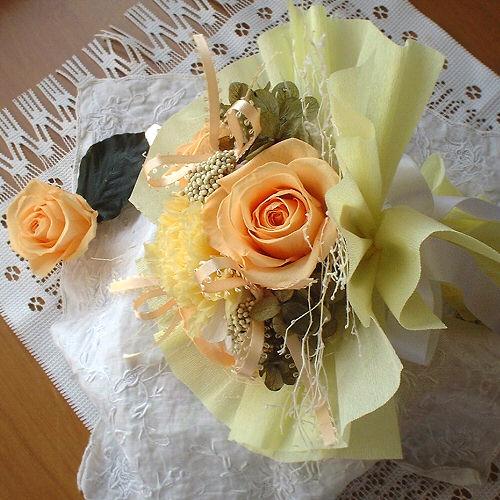 オーダーメイド事例05:ブーケプルズ用の小さな花束 02
