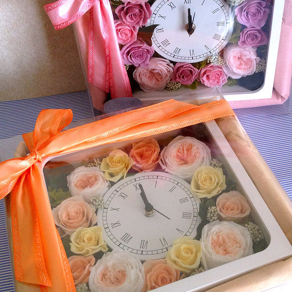 両親贈呈花 クロノス・セルクル(ピンク)