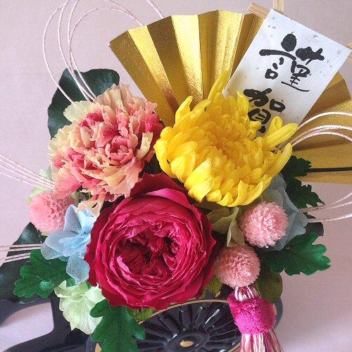 花車Sサイズ【プリザーブドフラワー】