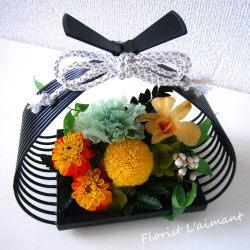 花籠(ホワイト)