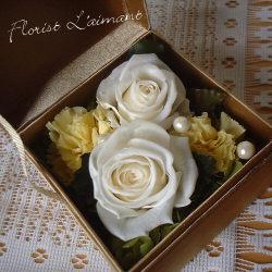 ローズの小箱(ホワイト)