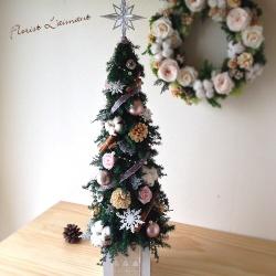 クリスマスツリー ローズツリーLサイズ(ピンク)