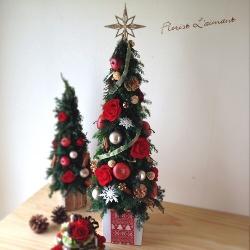 クリスマスツリーローズツリーLサイズ(レッド)