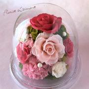 開業祝い・開店祝いのプリザーブドフラワー「グレイス」(ピンク)